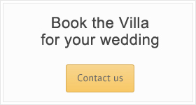 Book the Villa for your wedding!